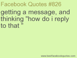 Facebook Quotes #826 
