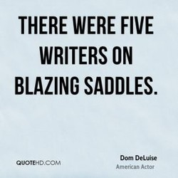 THERE WERE FIVE 