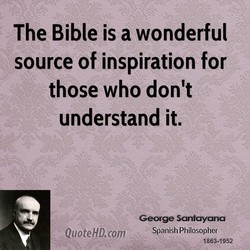 The Bible is a wonderful 