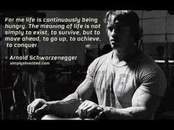 For me life is continuously being 