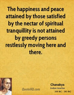 The happiness and peace 