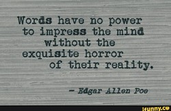 Words have no power 