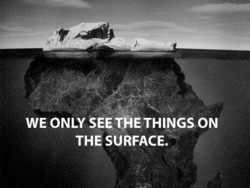 WE ONLY SEE TAÉTHINGSON 