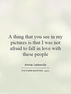 A thing that you see in my 