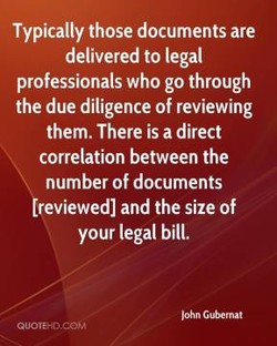 Typically those documents are 
