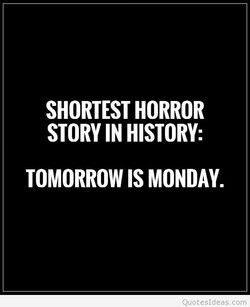 SHORTEST HORROR 