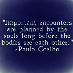 'Important encounters 