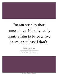 I'm attracted to short 