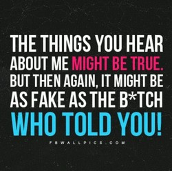 THE THINGS YOU HEAR 