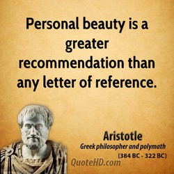 Personal beauty is a 