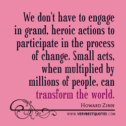 We don't have to engage 