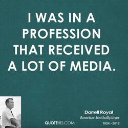 I WAS IN A 