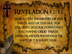 WOE TO THE INHABITERS OF THE 