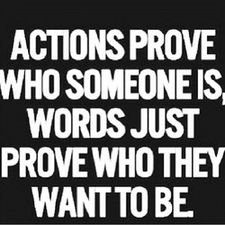 ACTIONS PROVE 