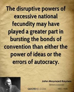 The disruptive powers of 