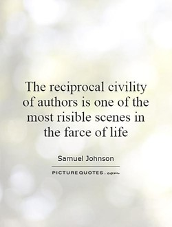 The reciprocal civility 