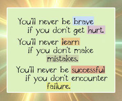 Youll never bc brave 
