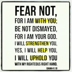 FEAR NOT, 