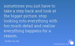 sometimes you just have to 