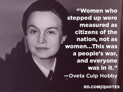 'GWomen who 