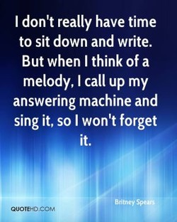 I don't really have time 