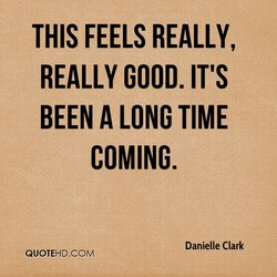 THIS FEELS REALLY, 