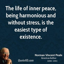 The life of inner peace, 