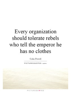 Every organization 