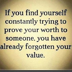 If you find yourself 