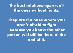 The best relationships aren't 