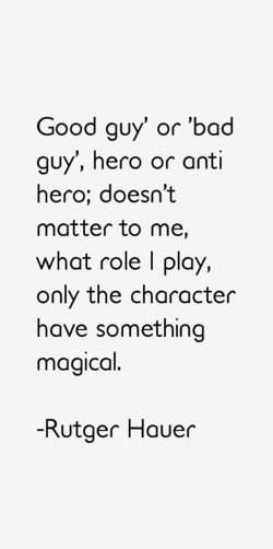 Good guy' or 'bad 