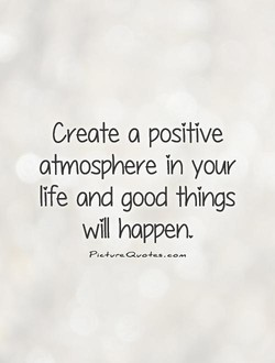 Create a positive 