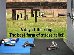 A day at the range; 