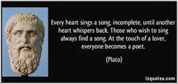 heart Sings a until another 