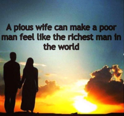 A wife can make a 