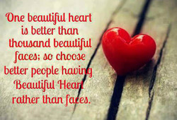 One beautTul heart 