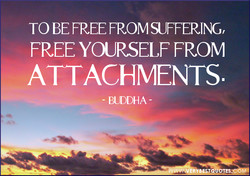 TO BE FREE FROM SUFFERING, 
