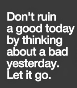 Don't ruin 
