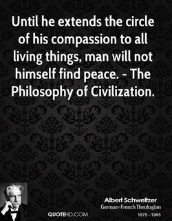 Until he extends the circle 