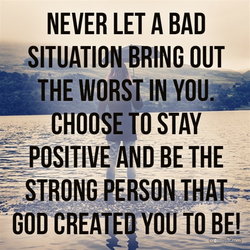 NEVER LET A BAD 