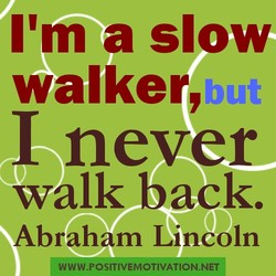 I'm a slow 