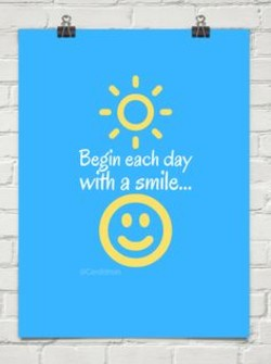 Begin each day 