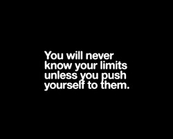 You will never 