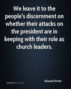 We leave it to the 