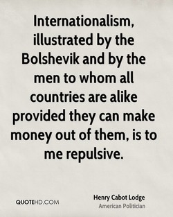 Internationalism, 
