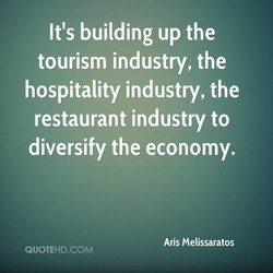 It's building up the 