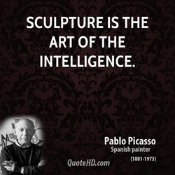 SCULPTURE IS THE 