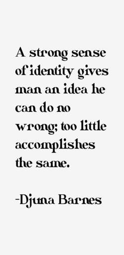 A strong sense 