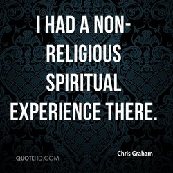I HAD A NON- 