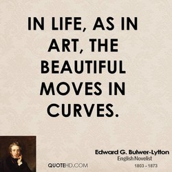 IN LIFE, AS IN 